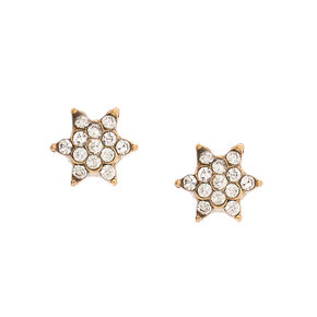 Crystal Starbust Magnetic Earrings,