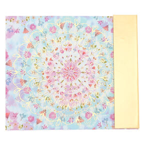 Floral Mandala Stationery Set,
