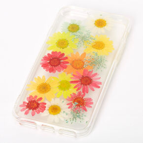Rainbow Pressed Sunflower Phone Case - Fits iPhone 6/7/8,