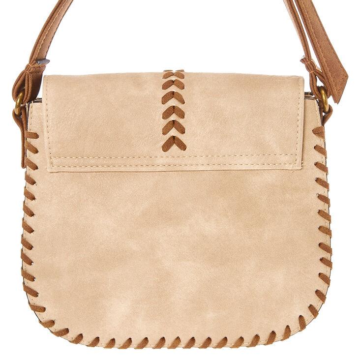 Natural Tassel Crossbody Bag,