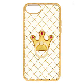 Crown Ring Holder Phone Case - Fits iPhone 6/7/8,