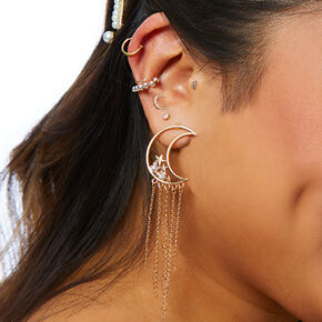 Gold Celestial Curated Ear Set,