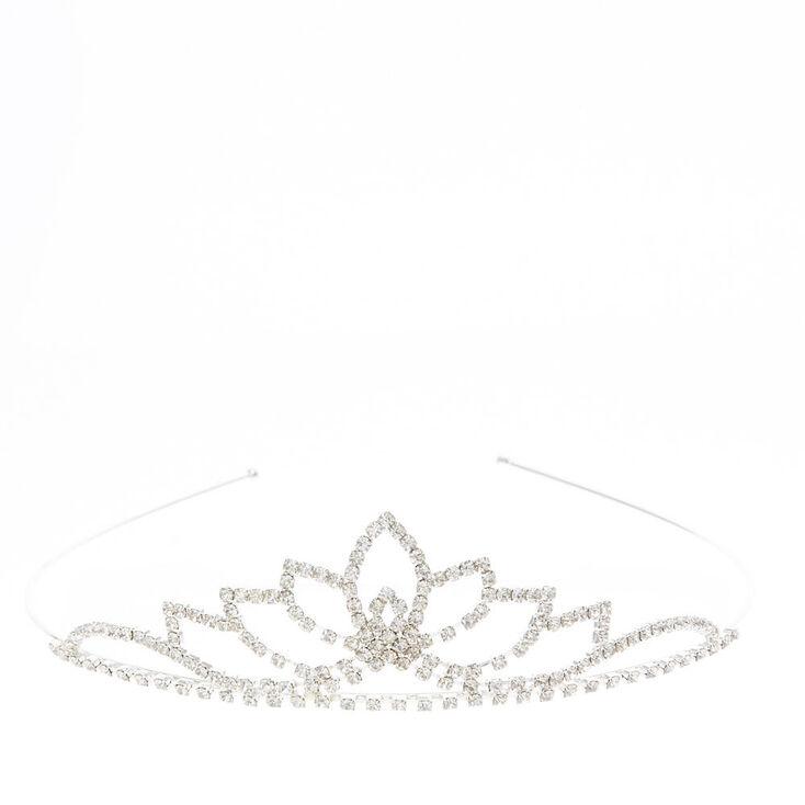 Silver Lotus Peak Tiara,