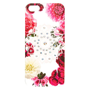 Floral Bling Mandala Phone Case - Fits iPhone 6/7/8,