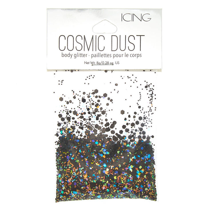 Cosmic Dust Body Glitter - Black,