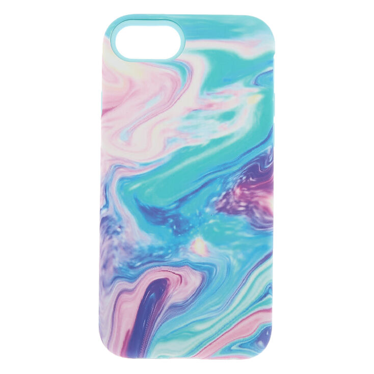 Pastel Oil Slick Protective Phone Case - Fits iPhone 6/7/8,