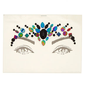 Anodized Forehead Gems - Black,