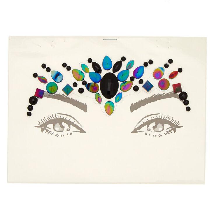 Anodized Forehead Gems - Black,
