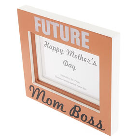 Future Mom Boss Photo Frame,