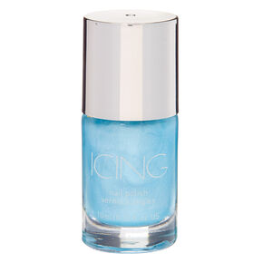 Shimmer Nail Polish - Denim,