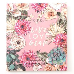 Live Love Glam Floral Makeup Set,