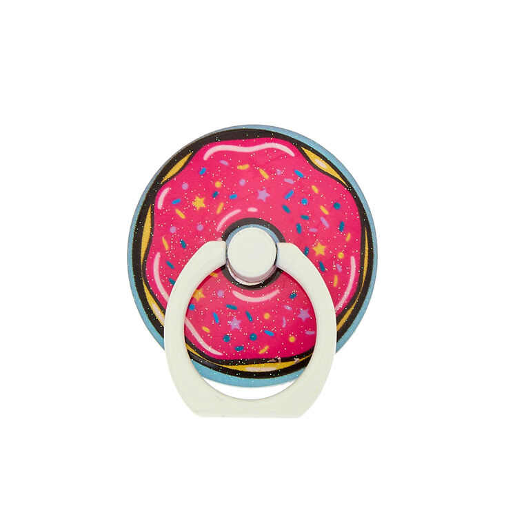 Glitter Donut Ring Stand - Pink,
