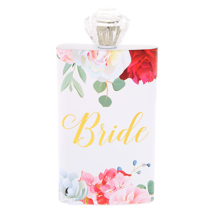 Floral Bride Flask,