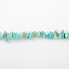 Puka Shell Choker Necklace - Mint,