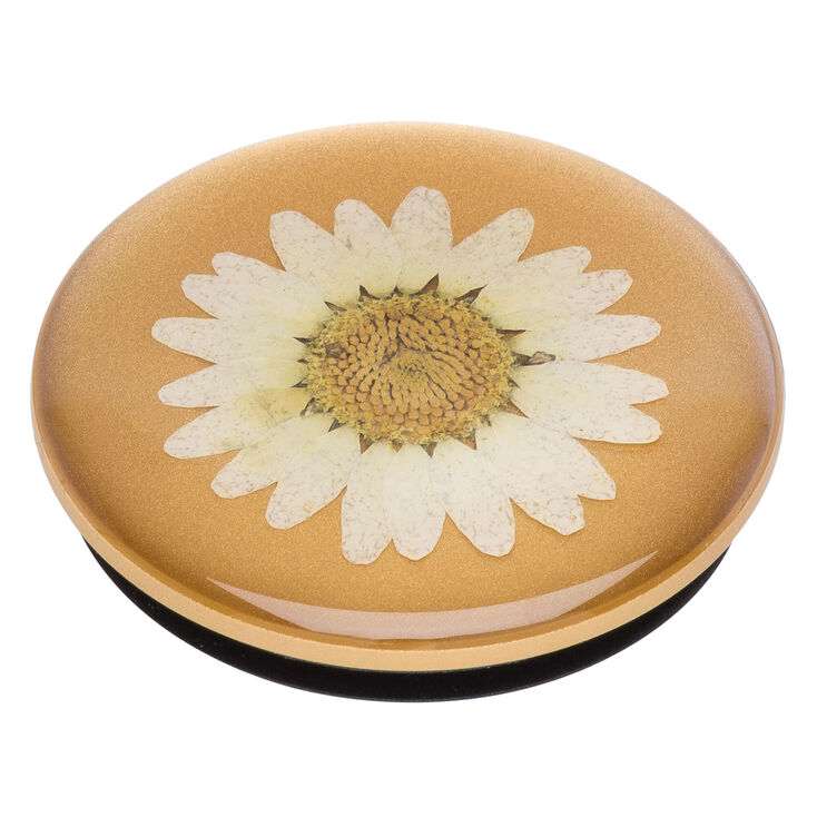PopSockets Swappable PopGrip - Pressed Daisy,