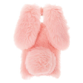 Pink Fur Bunny Phone Case- Fits Samsung Galaxy S8,