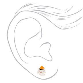Sterling Silver Hocus Pocus Stud Earrings - 3 Pack,