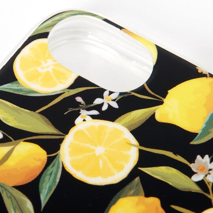 Black Lemon Zest Phone Case - Fits iPhone 6/7/8,