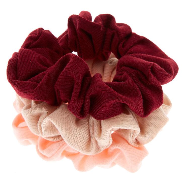 Small Berries & Cream Hair Scrunchies - 3 Pack,