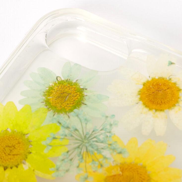 Rainbow Pressed Sunflower Phone Case - Fits iPhone 6/7/8,