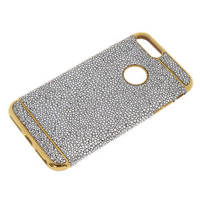 Holographic Pebble Phone Case - Fits iPhone 6/7/8 Plus,