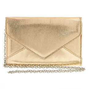 Metallic Gold Clutch Purse,