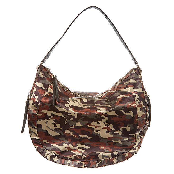 Camouflage Messenger Bag,