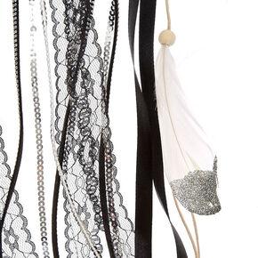 Large Black & White Dreamcatcher,