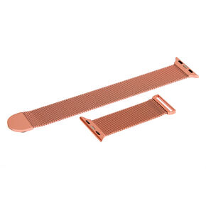 Rose Gold Smart Watch Band - Fits 38MM/40MM Apple Watch,