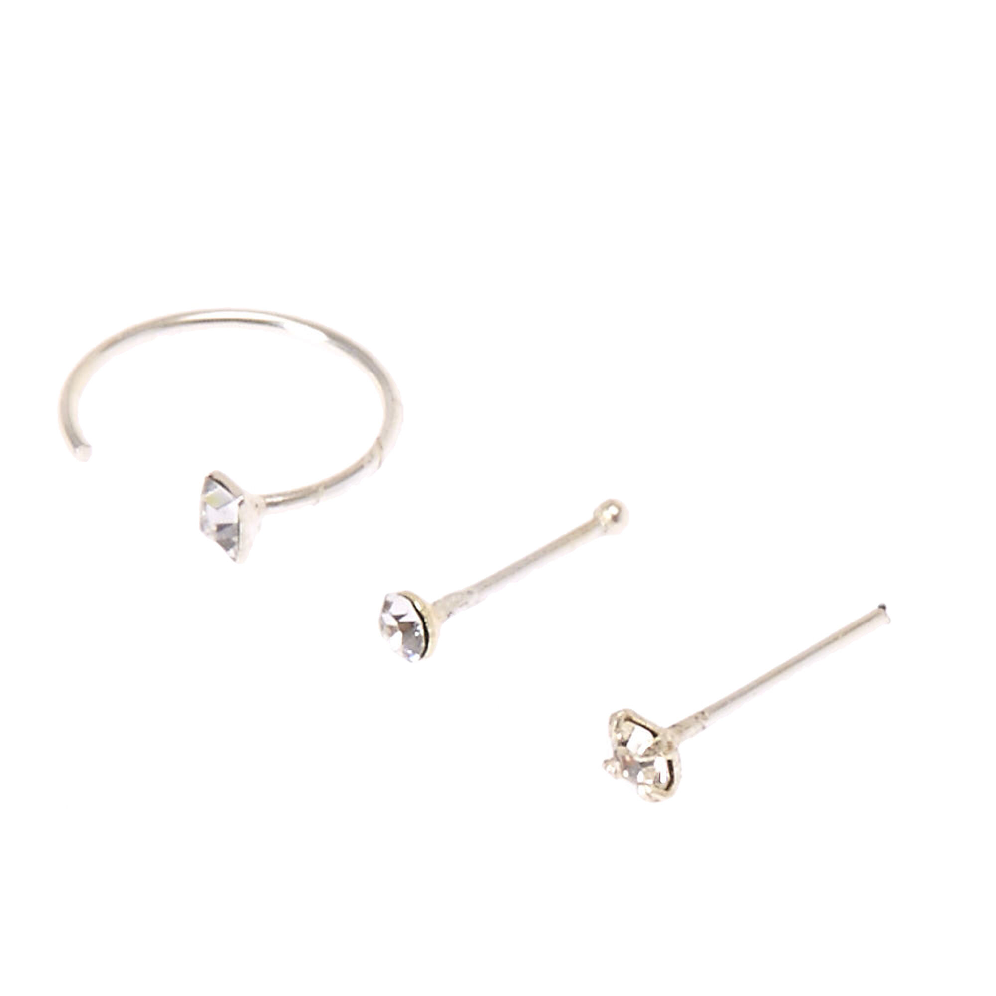 hoop set stud trio tcp earring earrings main six everyday wy leah