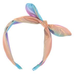 Pastel Anodized Knot Headband,