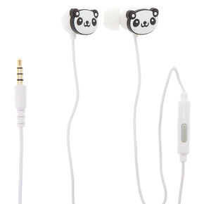 Gabba Goods® Panda Earbuds With Mic,