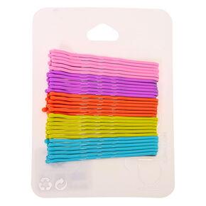 Pastel Rainbow Bobby Pins - 30 Pack,