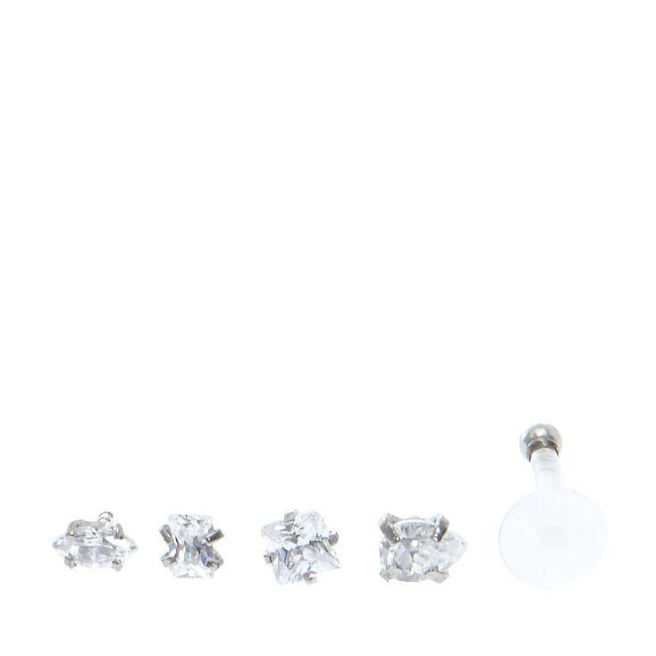 Labret & Monroe Faux Crystal Pack,
