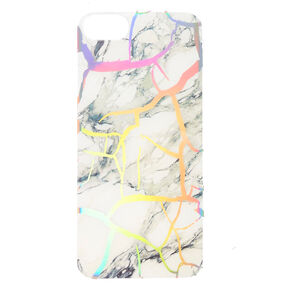 Holographic Cracked Marble Phone Case - Fits iPhone 6/7/8,