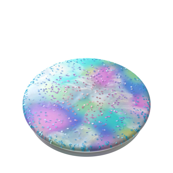 PopSockets Swappable PopGrip - Rainbow Cotton Candy,