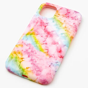 Soft Rainbow Marble Phone Case - Fits iPhone 11,