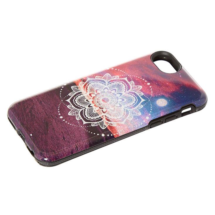Moonlight Mandala Protective Phone Case - Fits iPhone 6/7/8/SE,