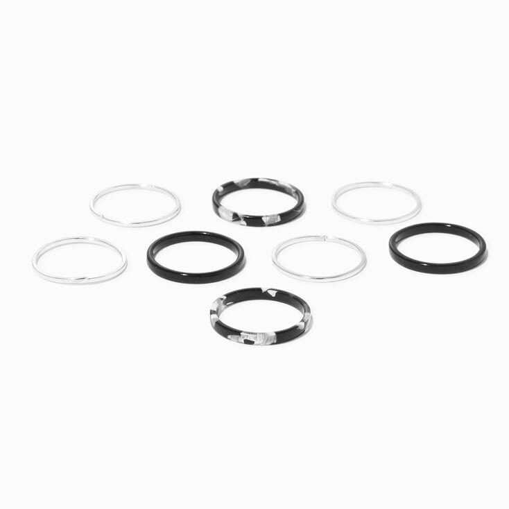 9 Pack 5 MM Faux Crystal Stud Earrings,
