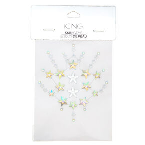 Iridescent Star Gems - Rainbow,