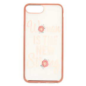 Woman Is The New Strong Phone Case - Fits iPhone 6/7/8 Plus,