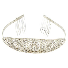 Silver Royal Wedding Tiara,