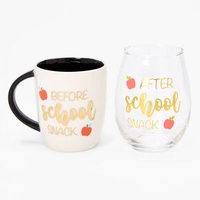 School Mug Set - Cream,