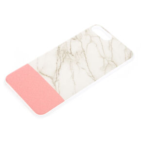 Marble & Pink Phone Case  - Fits iPhone 6/7/8 Plus,