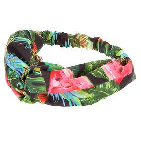 Tropical Watermelon Headwrap,