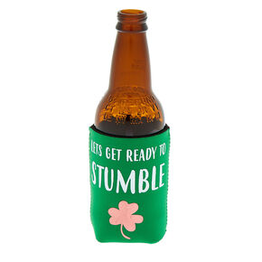 Lets Get Ready To Stumble Coozie - Green,