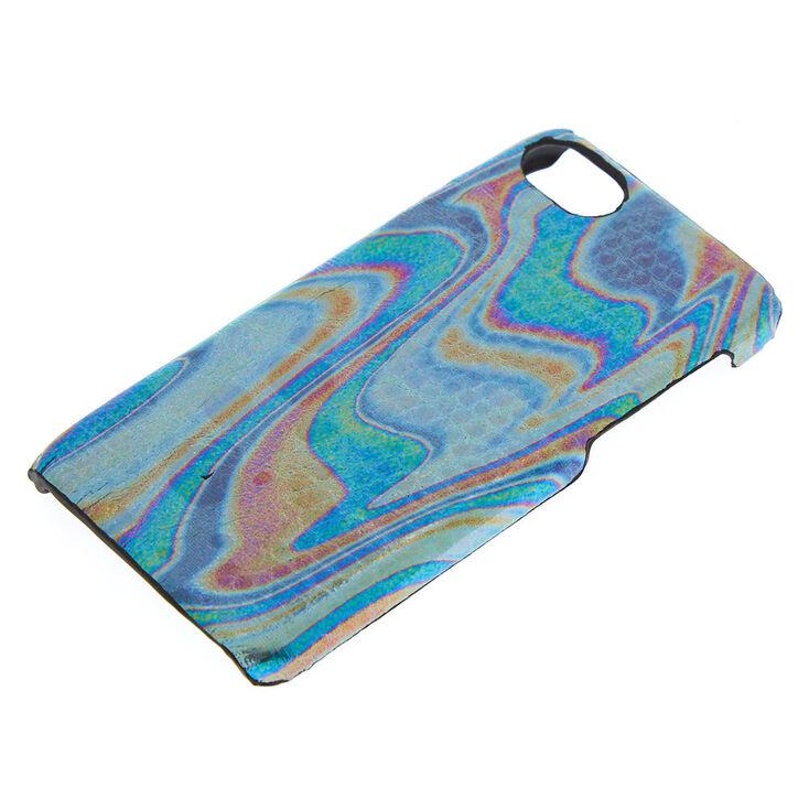 Oil Slick Snakeskin Phone Case - Fits iPhone 6/7/8 Plus,