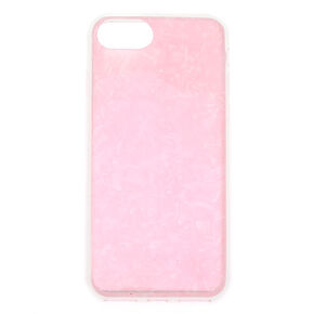 Iridescent Shell Phone Case - Pink,