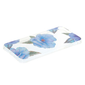 Blue Floral Phone Case - Fits iPhone 6/7/8 Plus,