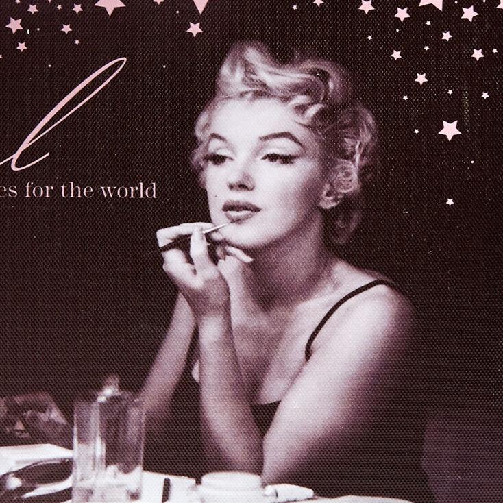 Marilyn Monroe Just a Girl Wall Art,
